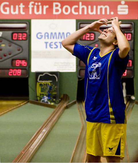 Bild zum Artikel: Sportkegeln: Blau-Gold holt Punkt in Bochum