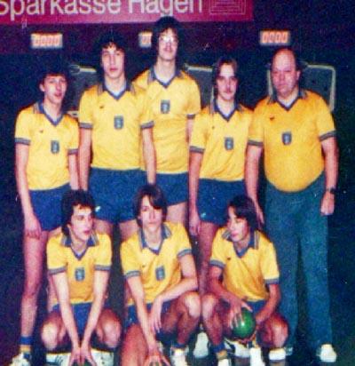 Bild: Sportkegeln - Blau Gold Hagen 3 im Jahre 1980
