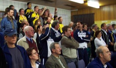 Bild: Blau Gold Hagen Zuschauer
