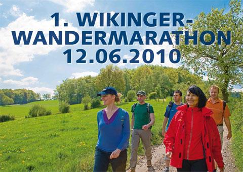 Bild zum Artikel: 1. Wikinger-Wandermarathon