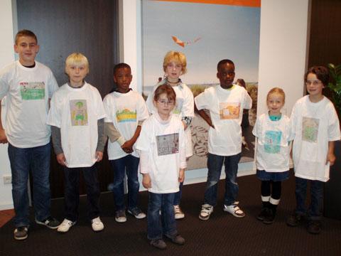 Bild zum Artikel: DAK-Malaktion: Kinder aus Hagen malten weltmeisterlich