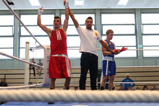 Mersid The Lion Hadzic vom Box-Sport-Club Hagen Haspe