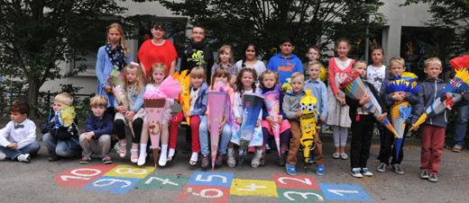 Bild zum Artikel: 32 neue Schüler bei Einweihungsfeier an der HagenSchule