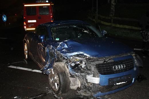 Bild zum Artikel: Verkehrsunfall mit einer verletzen Person in Dahl