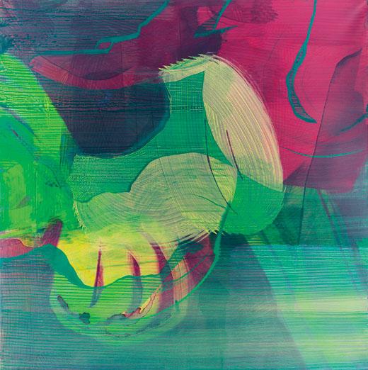 Bild zum Artikel: Farbe vermuten - Malereien von Jan Kolata