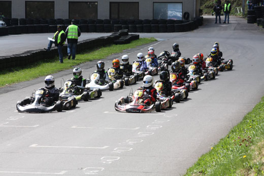Bild zum Artikel: 17. ADAC Kartrennen Bork auf dem Motodrom Hagen