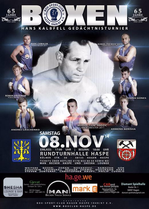 Bild zum Artikel: 65 Jahre Boxsport in Hagen Haspe