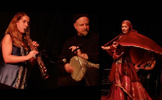 Bild zum Artikel: Mazaj Duo & Anya Vedant - Musik und Tanz aus Ägypten