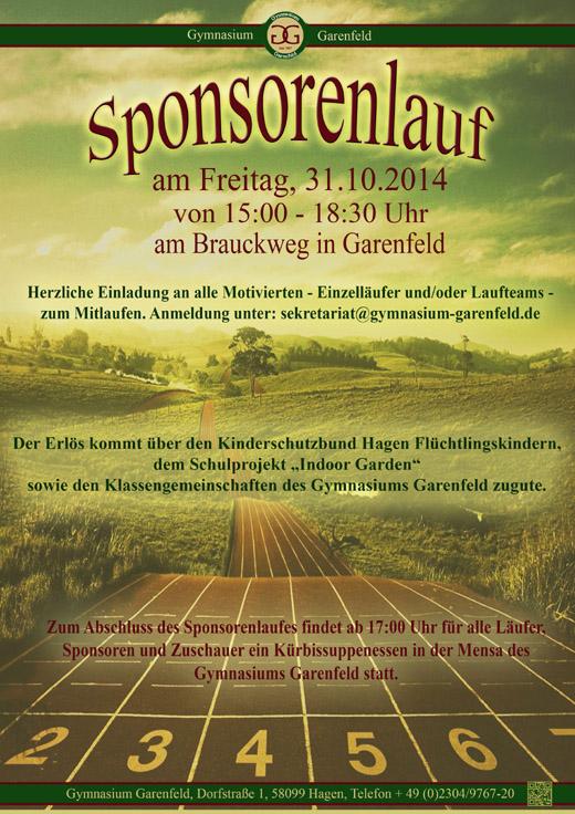 Bild zum Artikel: Offener Sponsorenlauf am Gymnasium Garenfeld