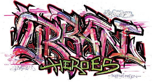 Bild zum Artikel: URBAN HEROES -Künstler im Focus der Öffentlichkeit-