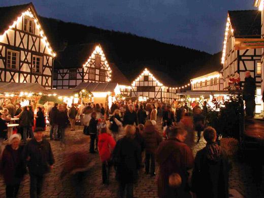 Bild zum Artikel: Weihnachtsmarkt im LWL-Freilichtmuseum Hagen