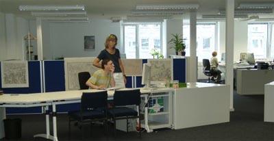 Das Amt für Geoinformation und Liegenschaftskataster in Hagen