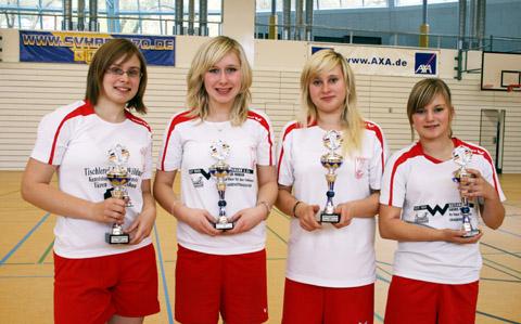 Bild zum Artikel: Deutsche Jugendmeisterschaft im Federfußball