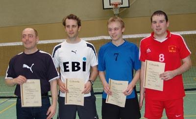 Bild zum Artikel: Federfußball Einzelranglistenturnier in Gifhorn