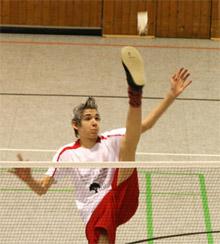 Federfußball Christopher Zentarra