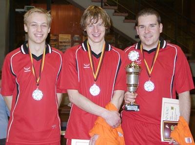 Bild zum Artikel: 11. German Open im Federfußball - Ungarn dominieren