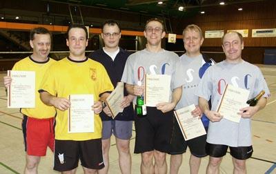 Bild zum Artikel: Deutsche Seniorenmeisterschaften im Federfußball - OSC Rheinhausen räumt alle Titel ab