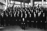 Die Heiderose im Jubiläumsjahr 1996 in der Stadthalle Hagen