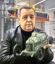Alfa Romeo Modell - Spielzeug-Ausstellung