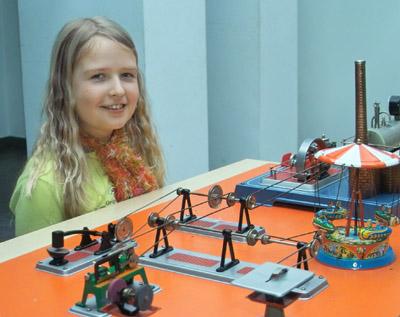 Bild zum Artikel: Führung durch die Ausstellung Technisches Spielzeug