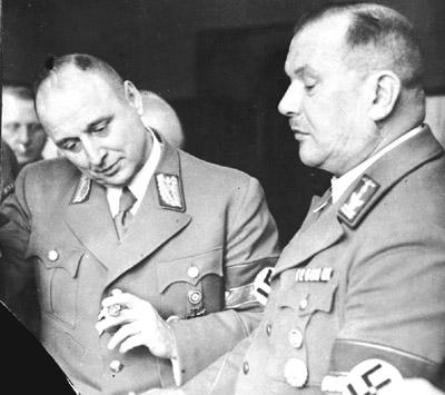 Paul Giesler und Heinrich Vetter (1942)