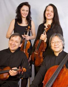 """Bild zum Artikel: """"Geräuschkulisse"""" mit dem Messiaen-Quartett"""