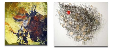 Bild zum Artikel: Flurstücke - Bilder und Objekte im Korridor