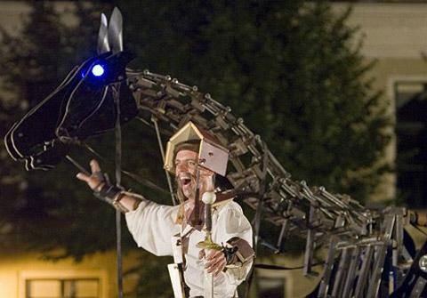 Bild zum Artikel: Muschelsalat Ausklang mit Don Quixote