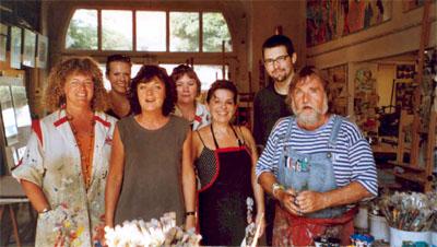 Bild zum Artikel: Workshop - Freie Malerei mit Uwe Nickel
