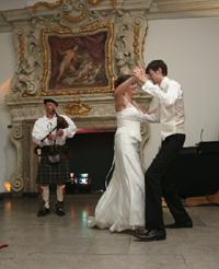 Robin auf einer galizischen Hochzeit