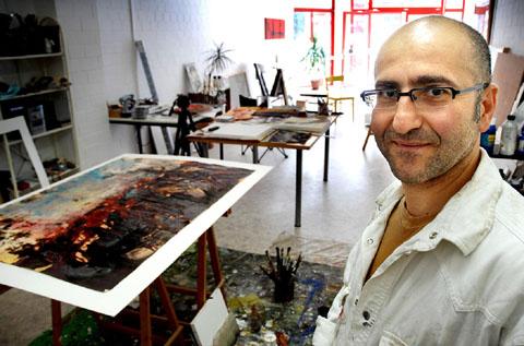 Der Künstler Nuri Irak