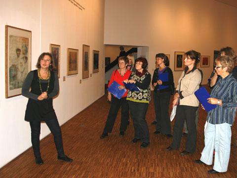 Bild zum Artikel: Kunsttreff: neue Veranstaltungsreihe für Erwachsene im Kunstquartier