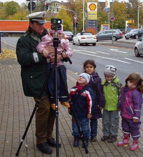 """Bild zum Artikel: Verkehrssicherheitstage: """"Kinder sind unsere Zukunft"""""""