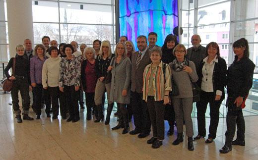 Jubiläen und Pensionierungen bei der Stadtverwaltung der Stadt Hagen im Dezember 2010