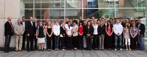 Ausbildung 2009 bei der Stadt Hagen