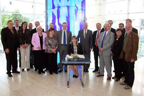 Bild zum Artikel: Finnische Delegation in Hagen zu Gast