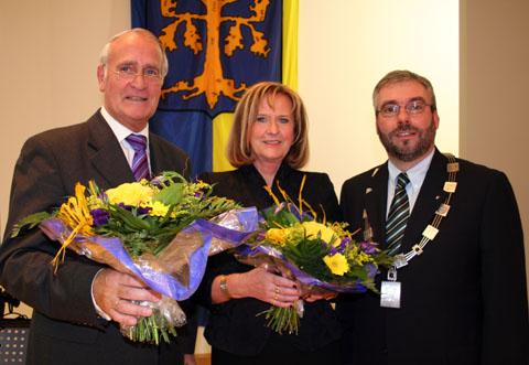 Bild zum Artikel: Jörg Dehm als Oberbürgermeister vereidigt