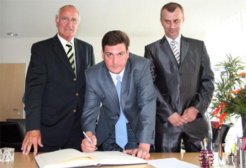 Bild zum Artikel: Bürgermeister Dr. Fischer empfängt Oberbürgermeister aus Smolensk