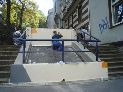 Bild zum Artikel: Treppe erstrahlt in neuem Glanz
