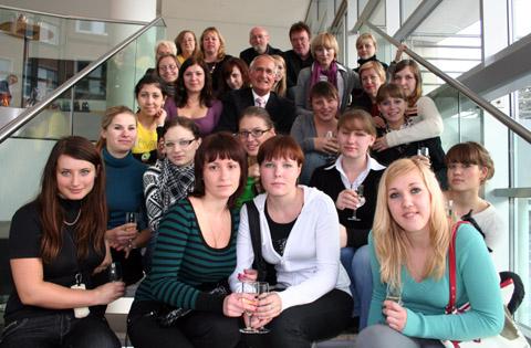 Bild zum Artikel: Empfang für russische Studentinnen