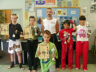 Bild zum Artikel: Kickboxen am Kinder- und Jugendpark Haspe