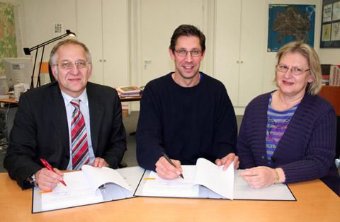 Bild zum Artikel: Vertrag zwischen Phoenix Hagen und Stadt unterzeichnet