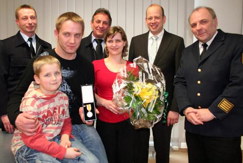 Bogdan Cichocki für Rettungstat geehrt