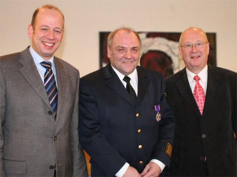 Bild zum Artikel: Hohe Auszeichnung für Hagens 1. Feuerwehrmann
