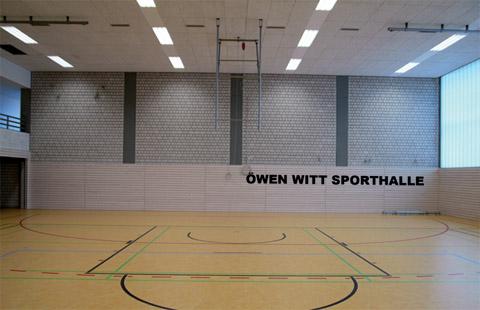 Bild zum Artikel: Sanierte Remberghalle wird in Öwen Witt Sporthalle umgetauft