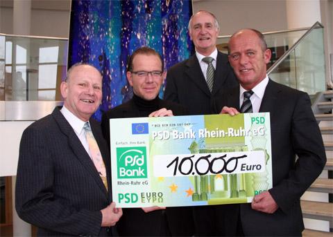 Bild zum Artikel: 10.000 Euro für Städtepartnerschaftsverein