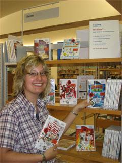 Bild zum Artikel: Wii-Spiele in der Stadtbücherei