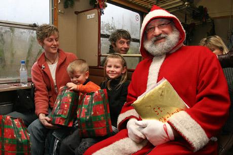 Bild zum Artikel: Nikolausfahrten der RuhrtalBahn
