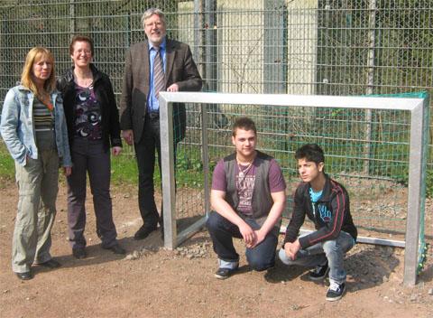 Bild zum Artikel: Jugendrat  Eilpe ermöglicht Streetball in Dahl