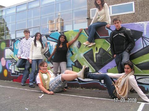 Bild zum Artikel: Legale Graffitiflächen in Hagen